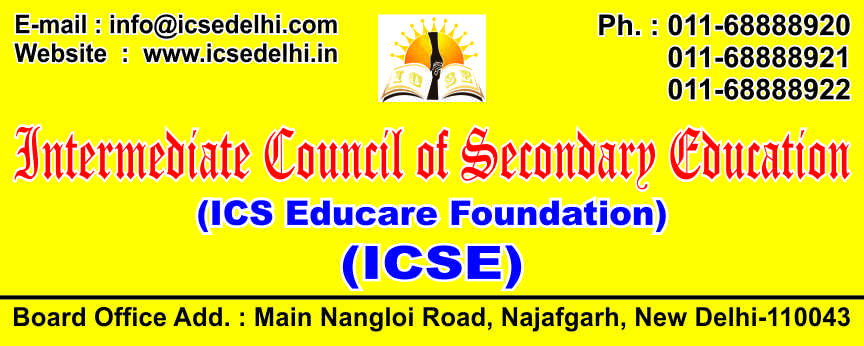INTERMEDIATE COUNCIL OF SECONDARY EDUCATION
